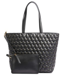 shopper quilted nappa pu trapuntata borchie nera versace jeans couture 02