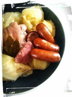 Recette cuisine potée de chou ingrédients facile économique hivers monblabladefille.com