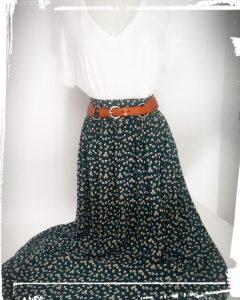 Comment faire une jupe de style bohème tuto et patron gratuit home made monblabladefille.com