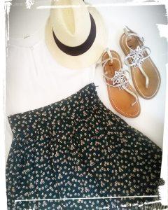 Comment faire une jupe zélie de style bohème tuto et patron gratuit hand made diy couture monblabladefille.com