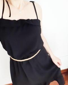 Photo patron de ma petite robe noire Lou mespatronsdefille makerist monblabladefille.com