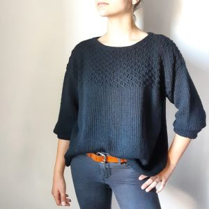 Pull Juliette collection tricot passion tricot, fait main, hand made, hand made wardrobe, tricot addict, knitters, knitting, laine, mode, fashion, tendance monblabladefille.com mespatronsdefille makerist