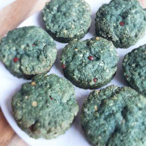 Recette biscuit avoine et spiruline monblabladefille.com