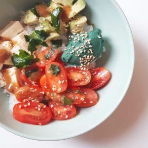 Recette bowl spiruline monblabladefille.com