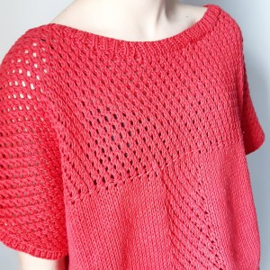 Pull carla #monblabladefille, diy, fait main, fiche explicative, hand made, hand made wardrobe, knitters, knitting, coton, drops, monblabladefille.com, point fantaisie, passion tricot, patron, pull, tendance, tricot, tricot addict, tuto, tutoriel, mespatronsdefille