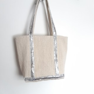 Hack sac cabas Vanessa Bruno patron gratuit free pattern monblabladefille.com glitter ikea diy home made #monblabladefille