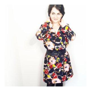 Photo de la notice explicative pour la réalisation de la manche pour la robe Esmée robe portefeuille mespatronsdefille monblabladefille.com