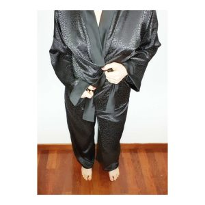 Description du patron Blaise type kimono noir