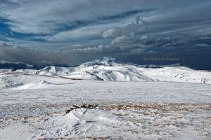 Ciel menançant sur la massif de Tabe
