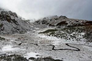 Pic du Han et ruisseau de l'Estagnolette - Cliquer pour voir la photo en haute résolution
