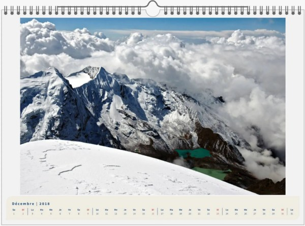 Mera Peak, Népal - 45x30 12