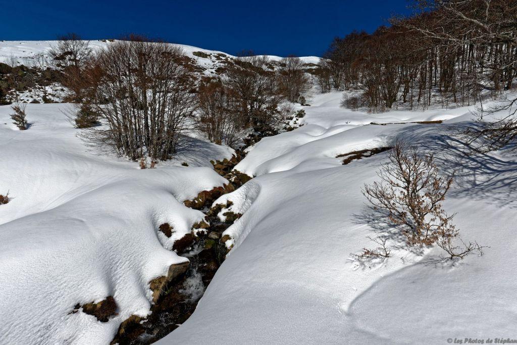 Ruisseau provenant de l'Estagnole