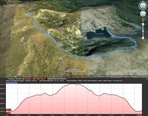 La trace gpx sous Google Earth