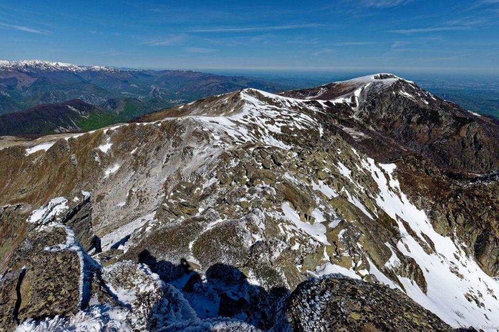 Pic de l'Estagnole et mont Fourcat
