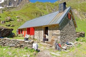 Cabane d'Aula après rénovation