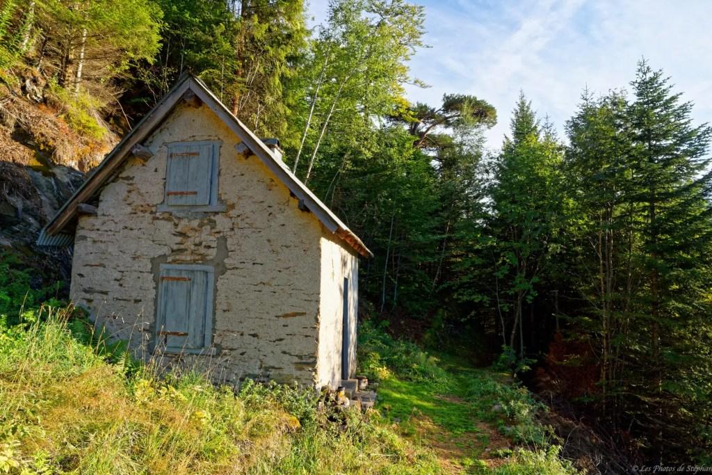 Cabane de Prunadière sur le GR10