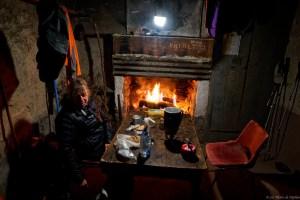 Soir à la cabane de Prunadière
