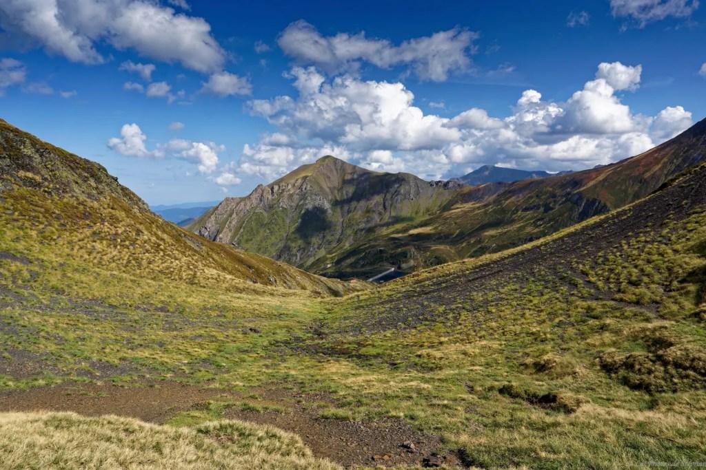 Du col d'Auéran, le début de l'Ariège