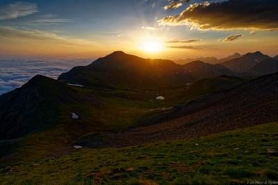 Le soleil se lève sur la Mail du Bulard