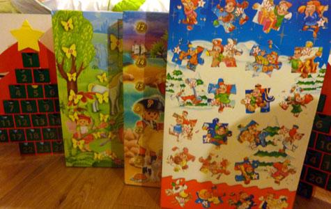Calendriers de l'avent Kinder et Playmobil Princesses et Piratesa