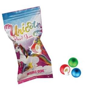 Bubble gum licorne