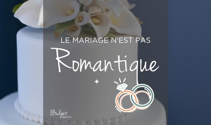 MARIAGE Regimes matrimoniaux - BLOG MON BUDGET BENTO