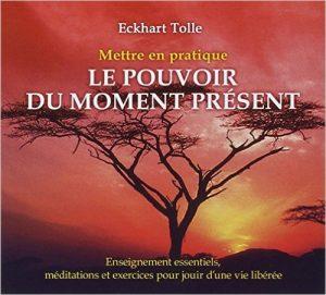 Eckhart Tolle :Mettre en pratique le pouvoir du moment présent - Livre audio CD – Livre audio, 14 février 2012 de Tolle Eckhart (Auteur)