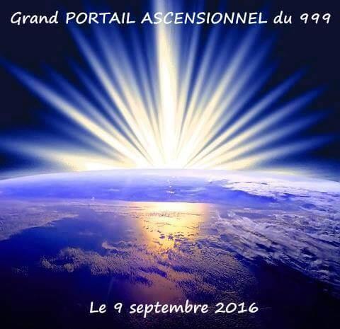 Portail ascensionnel quantique le 9 septembre 2016 est une date charnière