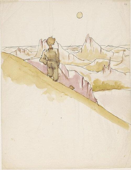 Désert solitaire, Le Petit Prince, Mon Carré de sable