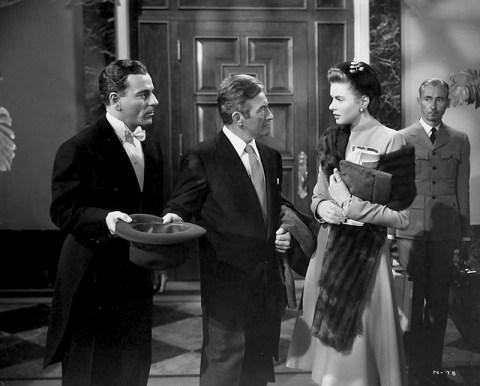 NOTORIOUS (Les Enchaînés) – Alfred Hitchcock (1946) avec Ingrid Bergman, Claude Rains