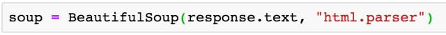 web scraping - Analyse du HTML avec BeautifulSoup
