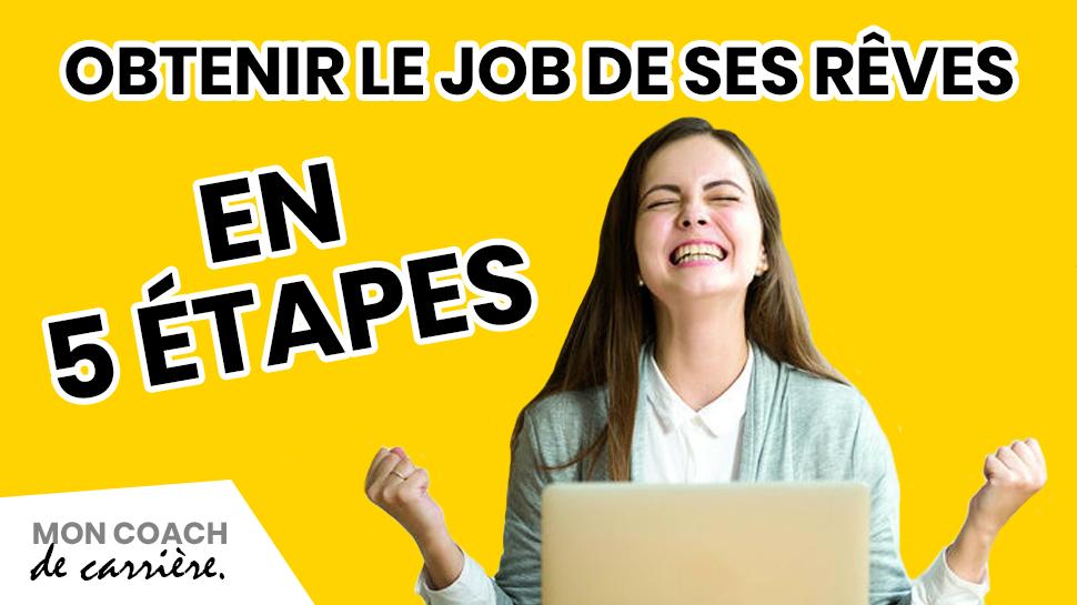 Recherche d'emploi en 5 étapes