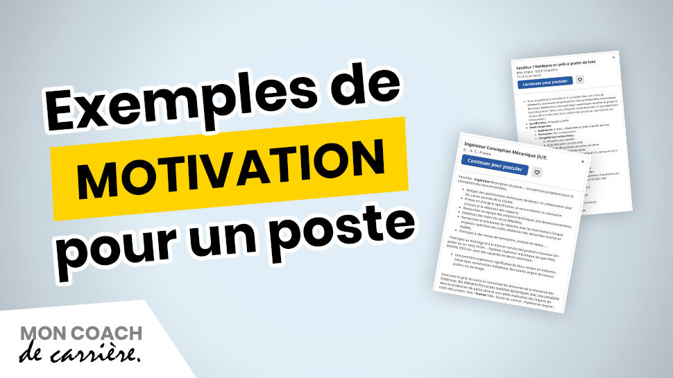 Exemple de motivation pour un poste