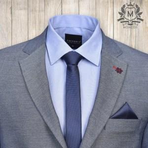 Mazzoli tengerkék nyakkendő