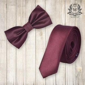 Falcon's borvörös nyakkendő szett