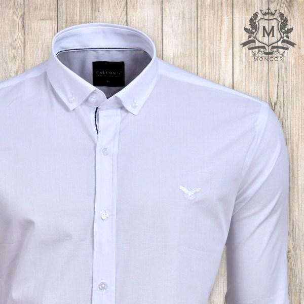 Falcon's Premium slim fit ing – fehér