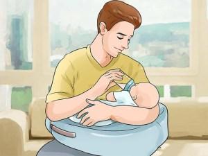 coussin allaitement mise au biberon