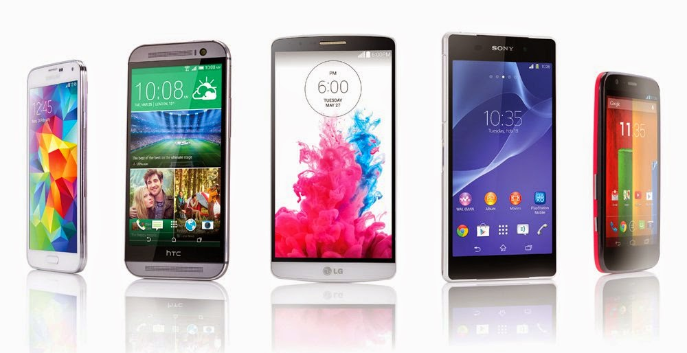 Top and Best 8 Android Smartphone 2014