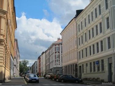 Dans les rues d'Oslo