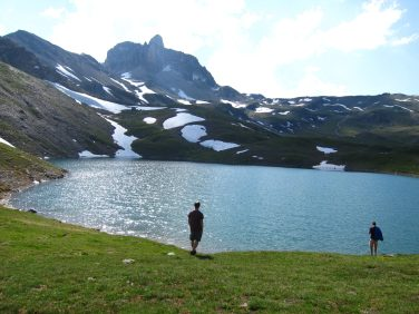 Lac au Mont Thabor
