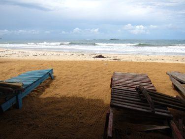 La plage de San Pedro en Côte d'Ivoire
