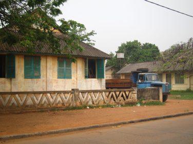 Dans les ruelles de Porto-Novo, Bénin
