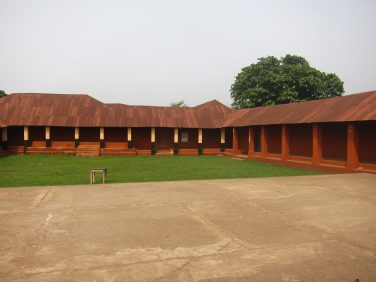 Photo du Palais Royal de Porto-Novo