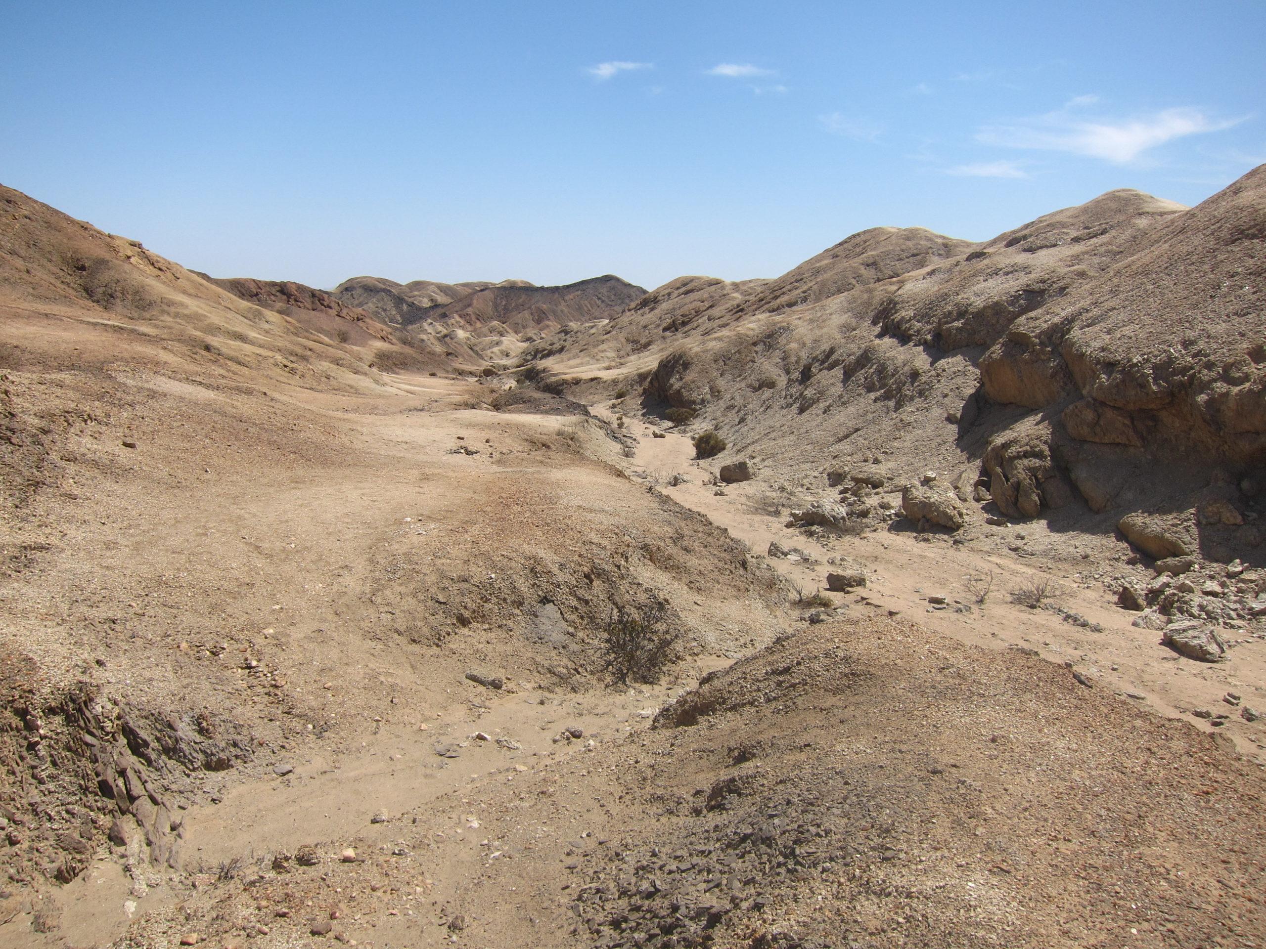 Moon Lanscape en Namibie