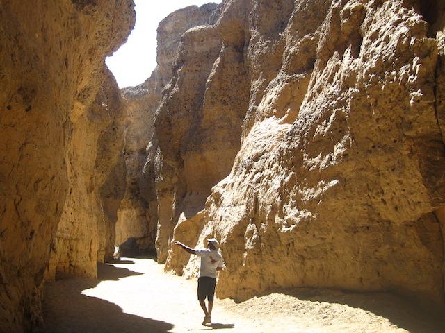 Photo du Sesriem Canyon en Namibie