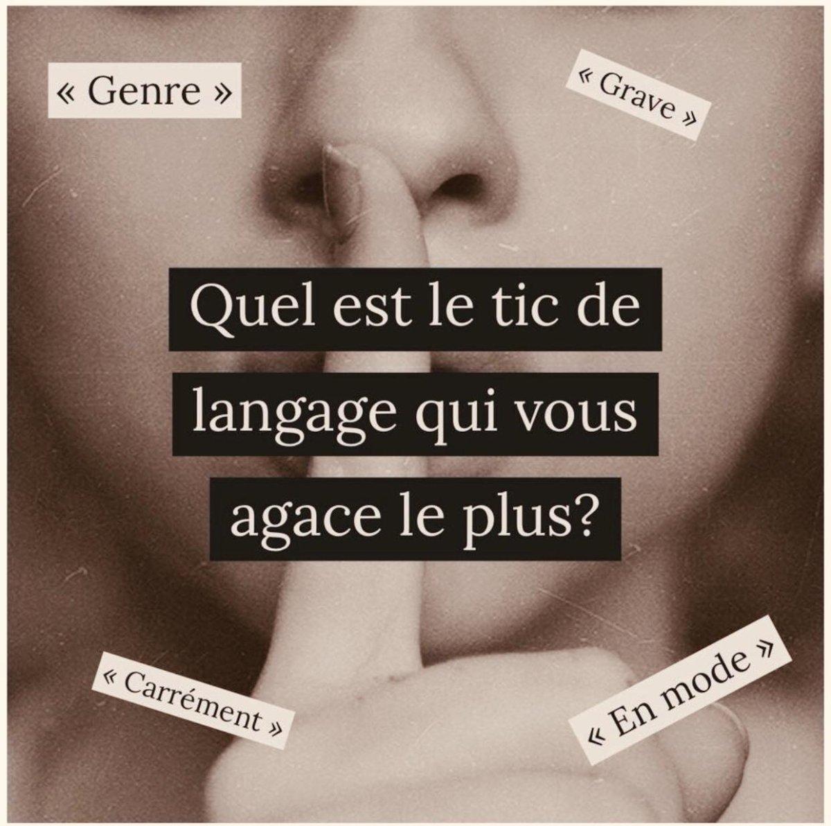 tic-de-langage