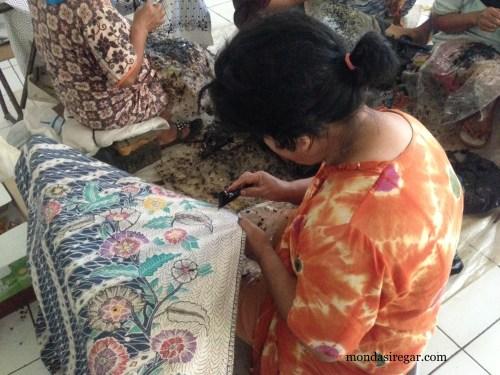pengrajin Batik Tasikmalaya