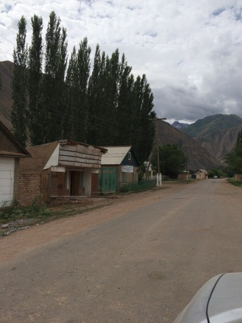 The CBT office in the isolated village of Kyzyl-Oi