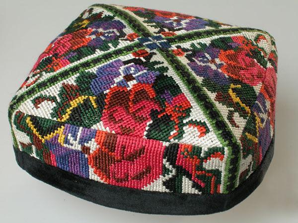Uzbek Women's Tyubeteyka Hat