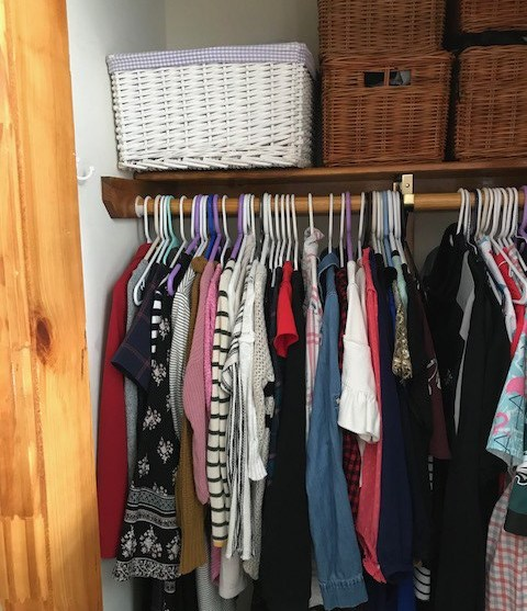 Weight Loss Closet Cleanout